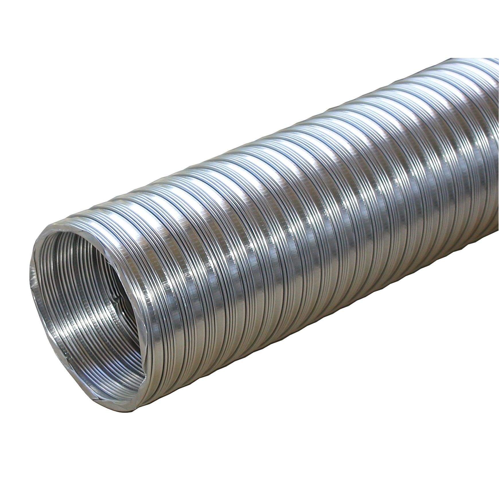 "Builders Best 011584 4"" X 8' Flexible Aluminum (Silver) P..."