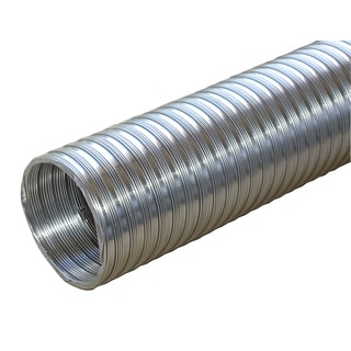 "Builders Best 011584 4"" X 8' Flexible Aluminum Pipe"