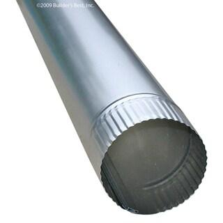 """Builders Best 010638 4"""" X 24"""" Rigid Aluminum Pipe"""