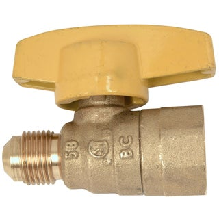 Brass Craft PSSL-12 Gas Ball Valve