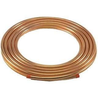 "Streamline D04010P Copper Tubing 1/4"" X 10'"