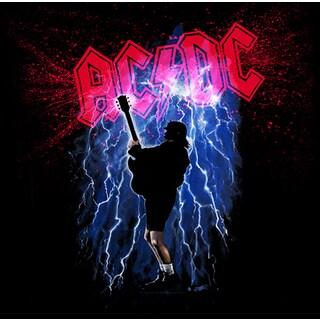 Stephen Fishwick AC/DC 'Thunderstruck' Canvas Wall Art