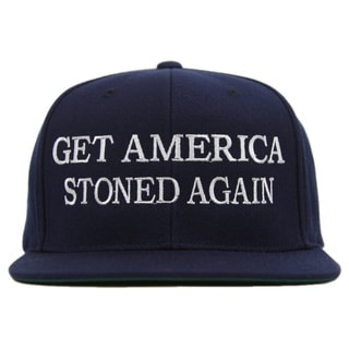 Tommy Chong Choice 'Get America Stoned Again' Snapback Baseball Hat