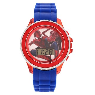 Geneva Platinum Children's Spiderman Flashing Dial Digital Watch