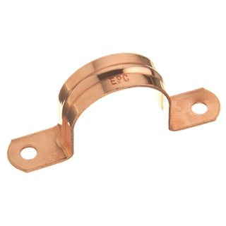"Elkhart Products 120 3/4"" 3/4"" Copper Pipe Straps 5-count"