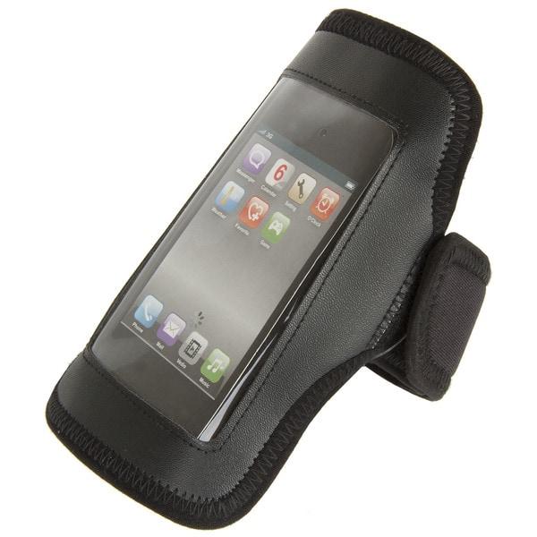 Ventura Maastricht Workout Black Fabric Phone Armband