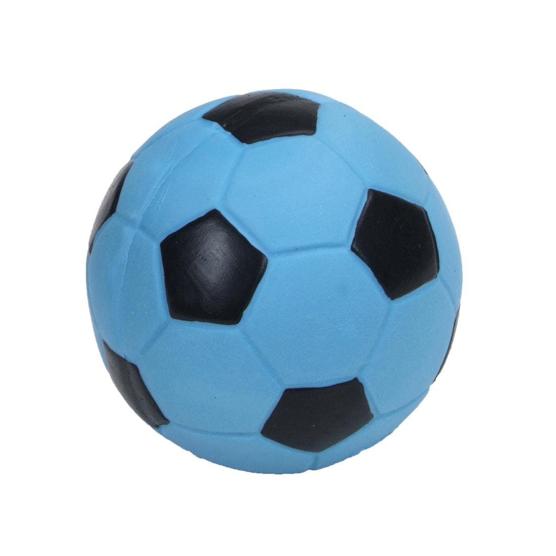 Coastal Pet Rascals Latex 3-inch Soccer Ball Dog Toy (Pin...