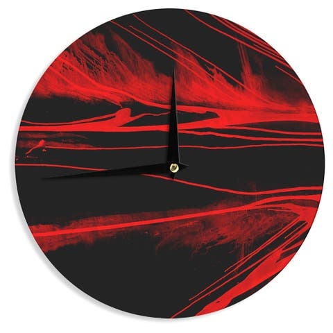 KESS InHouse Steve Dix 'In the Detail' Wall Clock