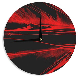 KESS InHouse Steve Dix 'In the Detail' Wall Clock