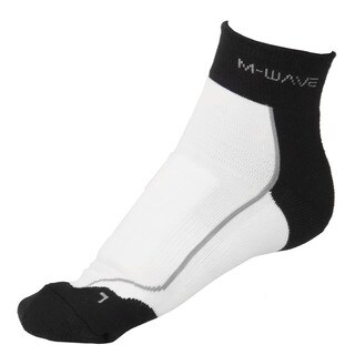 Ventura White Performance MTB Sock