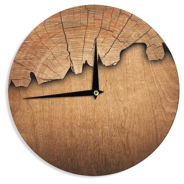 Kess InHouse Susan Sanders Aging Tree Wooden 12 Diameter