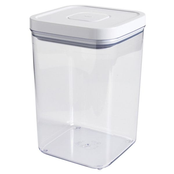 Shop Oxo 4 3 Quart Square Good Grips Pop Storage Container
