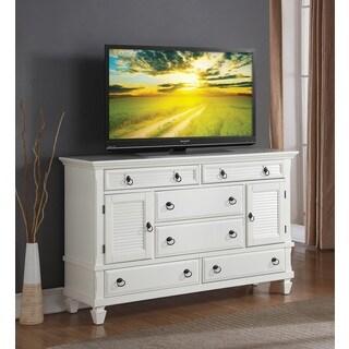 Regitina White Bedroom Dresser