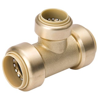 "Proline 632-434HC 3/4"" X 1/2"" X 3/4"" Low Lead Brass Reducing Tee"