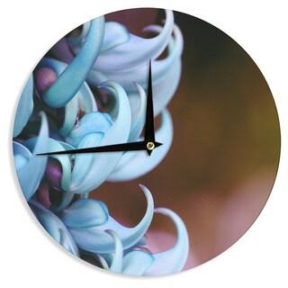 KESS InHouse Suzanne Carter 'Bloom' Wall Clock