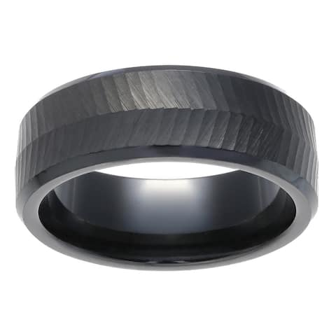 Black Ceramic Men's Band