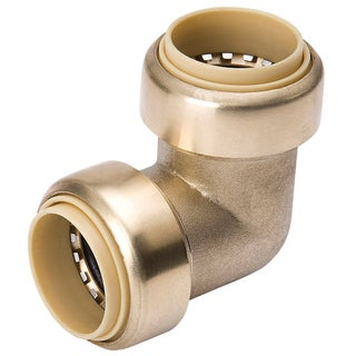 "Proline 631-003HC 1/2"" X 1/2"" Low Lead Brass Elbow"