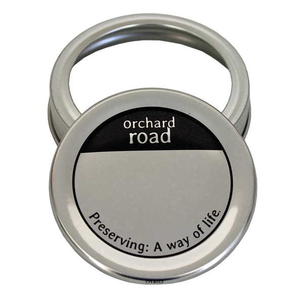 Orchard Road Orchard Road Wide Mouth Lids and Bands 6-count