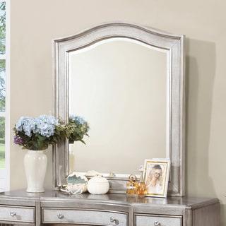 Coaster Company Silver Wood Wall Mirror