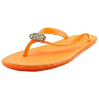 Dizzy Women's 'Dory' Orange Synthetic Sandals