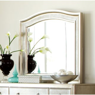 Silver Wood Mirror
