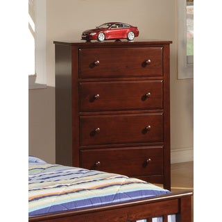 Coaster Company Cherry Finish Five Drawer Chest