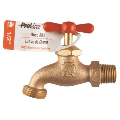 "Proline 103-013 1/2"" ProLine Brass Washing Machine Hose Bibb"