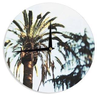 KESS InHouse Chelsea Victoria 'Tropico' Nature Photography Wall Clock