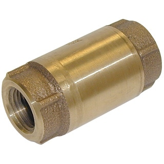 "Proline 101-307NL 1-1/2"" Low Lead Bronze In Line Check Valve"