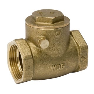 "Proline 101-006NL 1-1/4"" IPS Low Lead Swing Check Valve"