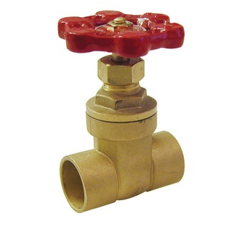 "Proline 100-455NL 1"" Copper Sweat Low Lead Gate Valve"