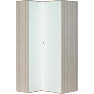 Voelkel Spot Collection White/Grey Corner Wardrobe