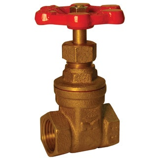 "Proline 100-001NL 1/4"" IPS 200 PSI Low Lead Gate Valve"