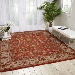 Nourison Grand Mahal Rust Area Rug (8' x 10')