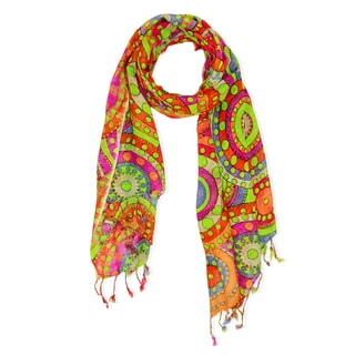 Saachi Women's Multi Circle Scarf (India)
