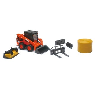 Kubota SSV65 Skid Loader Model Toy Set