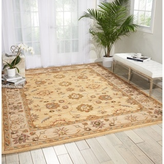 Nourison Grand Mahal Gold Area Rug (8' x 10')