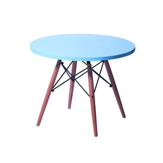 Kids Eame style table-Blue