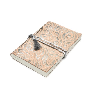 Handmade Shine Brightly Journal - Silver (India)