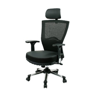 Max Pocket Black Mesh Spring Office Chair