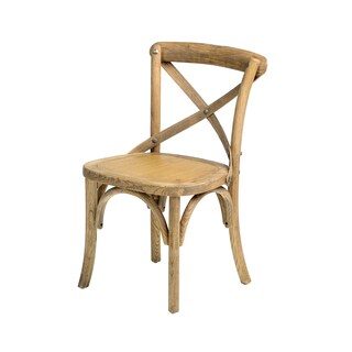 Sonoma Raw-tinted Cross Back Stackable Children Chair