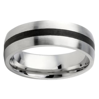 Stainless Steel Two-tone Men's Band