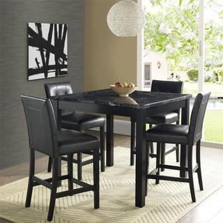 Gracewood Hollow Khorenatsi Faux Marble Counter-height Dining Set