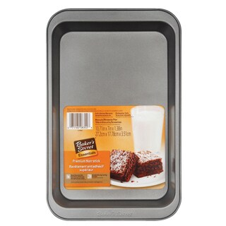 Bakers Secret 1114441 Baker's Secret Brownie Pan