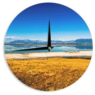 KESS InHouse Sylvia Coomes 'Reflection' Nature Photography Wall Clock