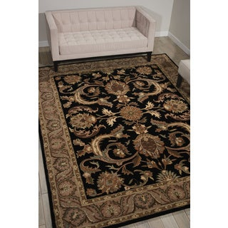 Nourison Grand Mahal Black Area Rug (8' x 10')