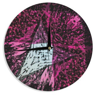KESS InHouse Theresa Giolzetti 'Family 2' Wall Clock