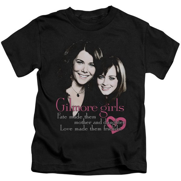 07e4c2bb Shop Gilmore Girls/Title Short Sleeve Juvenile Graphic T-Shirt in ...