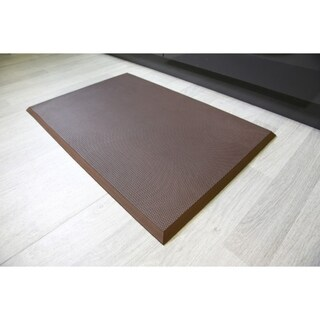 Professional Comfort Plus Black/Brown Rubber Floor Mat