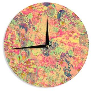 KESS InHouse Ebi Emporium 'Time For Bubbly' Wall Clock